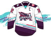 Grand Rapids Griffins - 90's Night Jersey