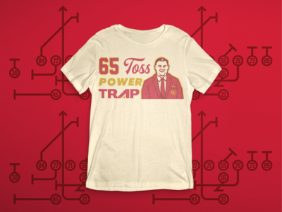Hank Stram - 65 Toss Power Trap
