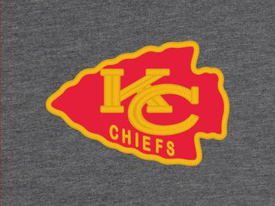 KC Chiefs Blazer Patch