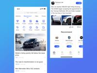 Automotive app design