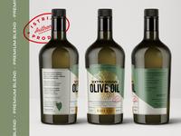 Rheos pt.2 stamp packaging olive oil branding brand identity