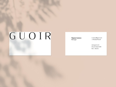Lıngerie Re Brand Business Card
