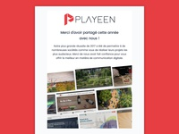 Playeen Newsletter - Happy New Year 2018
