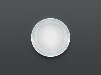 One Layer Style - Plate