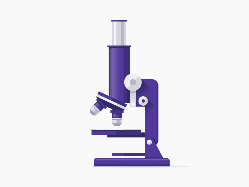 Under the Microscope microscope examine science icon blog post