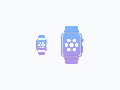 Apple Watch icon apple watch simplified wearable device