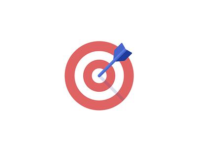 Find a Target Audience blog design audience bullseye arrow icon target