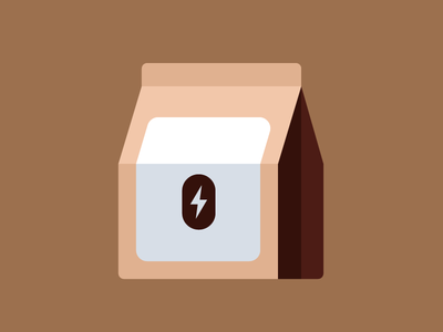 Refuel Sticker Pack: Coffee 003 grounds bag ui messages ios sticker icon coffee