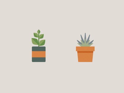 Potted Plants 1.0 icons nature potted pots plants
