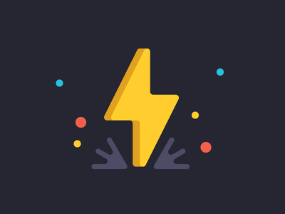 More Power course choices web illustration lightening colors power