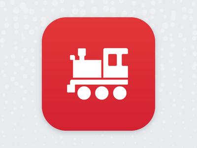 Christmas Train Ride play kids app ios christmas icon train