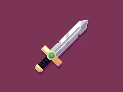 Sword of Kings medieval illustration king sword