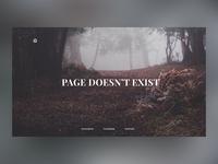 404 screen concept