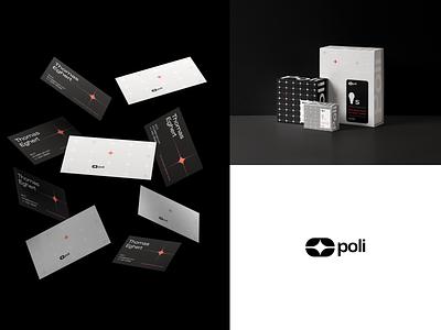 Poli Branding businesscard logodesign logo brand design brand identity branding brand