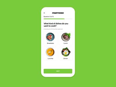 Fastogo Application design app design ukraine ui  ux ux ui mobile application scanning animated