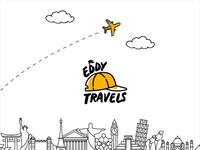 Eddy Travels Logo