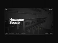 Hexagon Space – Co-Working Website