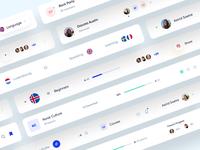 UI Web App Interface 2 brand clean webdesign website user interface user experience social web ux ui minimal interface design app