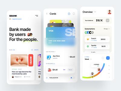 Financial Mobile App finance user interface dashboard blog credit card transactions crypto fintech banking ios mobile app mobile design mobile web ux ui minimal interface design app