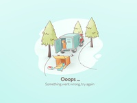 Error Page Delivery Service Illustration