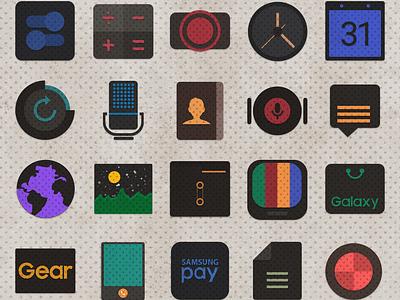 Rustic Ui samsungtheme icons theme