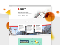 «ProfConsultCompany» website and logotype