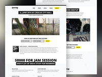Landing page template #1