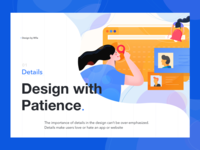 Design with patience