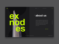 Exnodes - Digital agency - About us Page