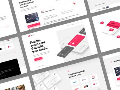 Cardfinder Homepage | Desktop Version