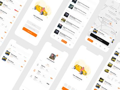 Taxi agregator. Redesign (v2.0)