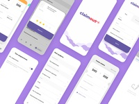 Claimout. Mobile app