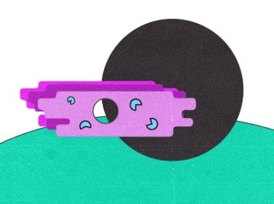 Cosmic Byway illustration vector