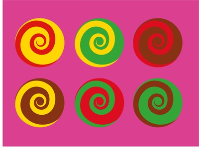 Candy Color vector illustration vector art experiment color art illustrator illustration