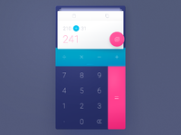 Calculator dribbble 01 calculate