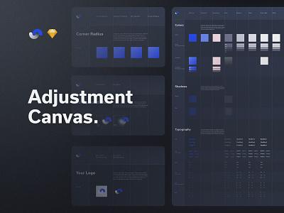 Shift Design System Adjustment Canvas documentation release live buy symbols atomic components app ux sketch products kits ui shift system design ui8net ui8 frish yung