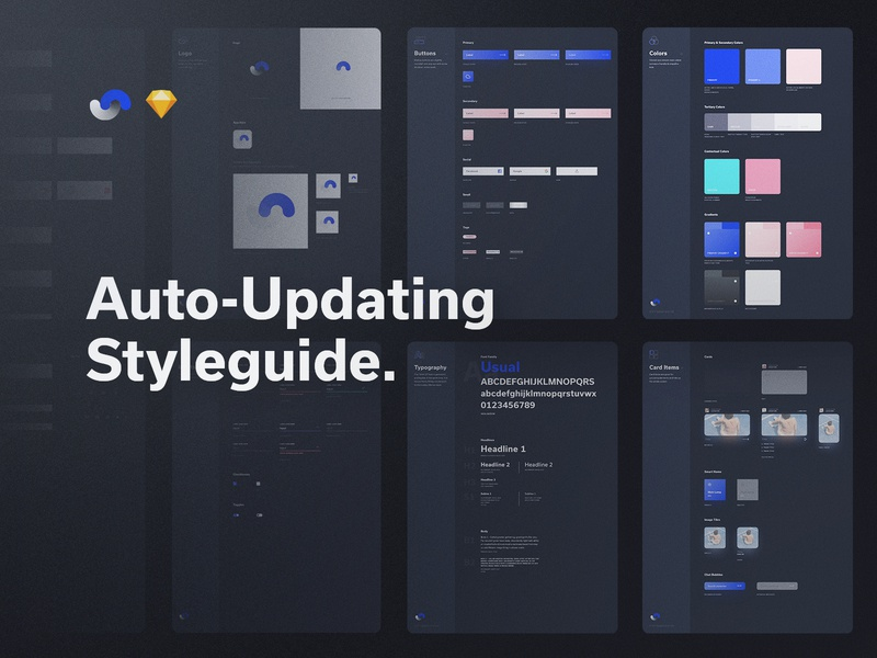Shift Design System Styleguide documentation release live buy symbols atomic components app ux sketch products kits ui shift system design ui8net ui8 frish yung