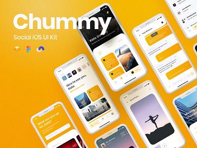 Chummy UI Kit Release yung frish ui8 ui8net design system shift ui kits products sketch ux app components atomic symbols buy live release documentation