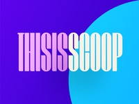 Scoop Display Font Release