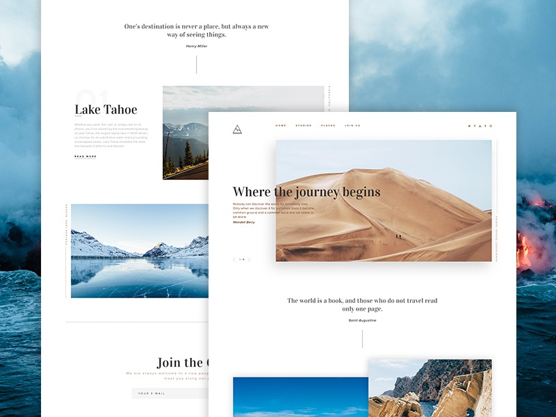 Travel Site redesign