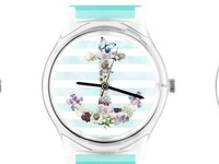 Fab.com watches - Floral Anchor