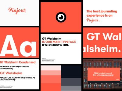 Pinjour – Visual Identity visual identity logo design identity hand lettering type branding wordmark logotype logo lettering typography