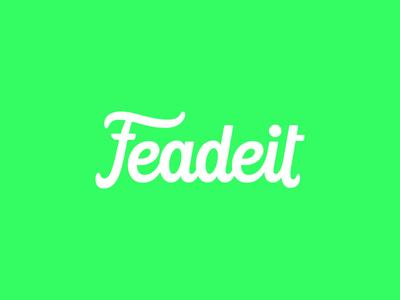 Feadeit - custom lettering