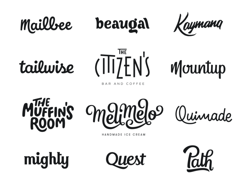Hand lettered Logos - First Year mark calligraphy logo design identity type hand lettering branding wordmark logotype lettering typography logo