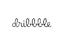 Dribbble - Refreshed wordmark (concept)