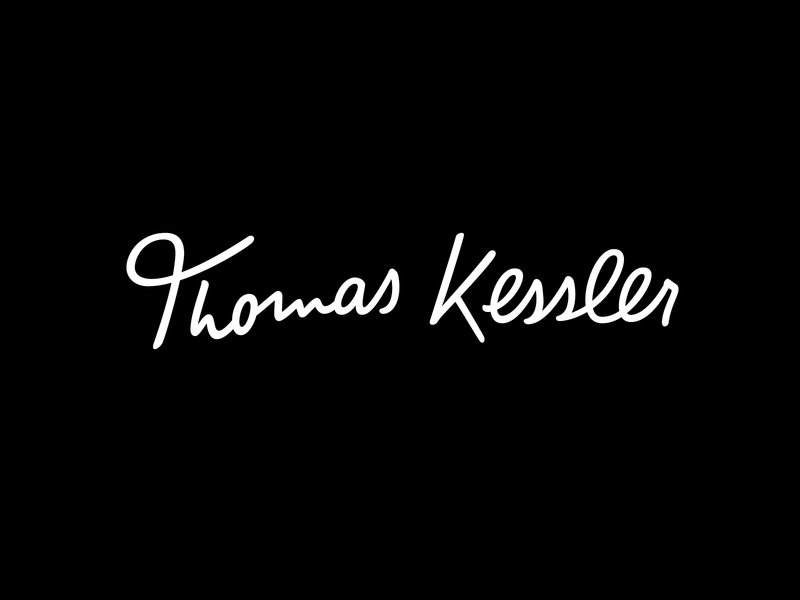 Thomas Kessler - Personal Tailoring calligraphy logo design hand lettering identity type branding wordmark logotype lettering logo typography