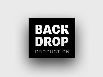 Backdrop - Custom lettering brand bold sans serif mark hand lettering identity type logo wordmark logotype lettering branding typography