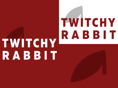 Twitchy Rabbit | Day 3 twitchy rabbit thirty logos logo design logo identity graphic design day 3 challenge branding