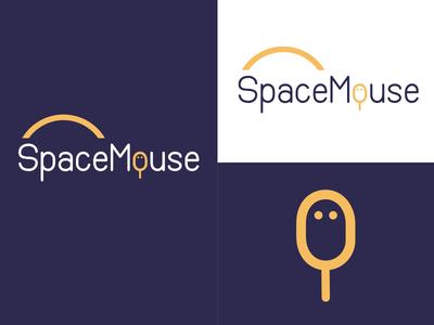 Space Mouse | Week 1 space mouse logo design logo identity graphic design typehue brandom challenge branding