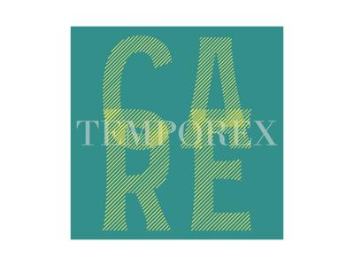 Care by Temporex | Week 1 album temporex care logo design logo identity graphic design typehue music challenge branding